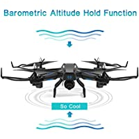 Kanzd S21 Altitude Hold 2.4G 2MP HD Camera 6-Axis WIFI FPV RC Quadcopter Warrior Drone
