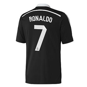 adidas Real Madrid – Camiseta Tercera Traje Hombre, Color Ronaldo 7, tamaño Medium Boys 28-30