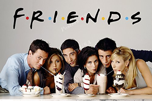 Posters USA Friends TV Series Show Poster GLOSSY FINISH - TVS099 (24