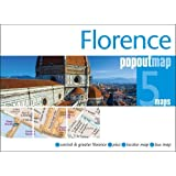 Florence PopOut Map - handy, pocket-size pop up city map of Florence (PopOut Maps)
