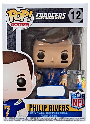 Uniform Chargers Diego San (Funko POP! NFL Football Wave 4 Los Angeles Chargers - Philip Rivers (Color Rush Uniform) - Toys R Us Exclusive)