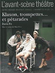 L'Avant-scène théâtre, N° 1292, 15 novembre : Klaxon, trompettes... et pétarades