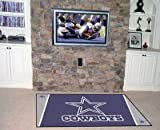 Dallas Cowboys Official NFL 4'x 6' Area Rug by Fanmats