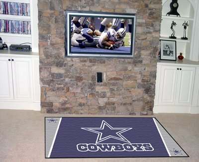 Dallas Cowboys Official NFL 4'x 6' Area Rug by Fanmats by Fanmats