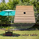 SunLife Patio Umbrella Base Stand, Outdoor Side