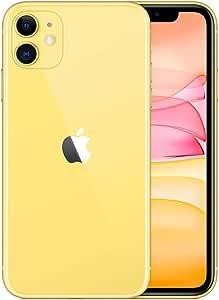 Apple iPhone 11, 64GB, Yellow - for Verizon (Renewed)