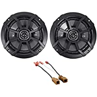 2013-2015 Nissan Altima Sedan Kicker CS Rear Deck 6.5 Speaker Replacement Kit
