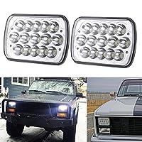 5x7 Headlights, H6054 Led Headlights, Jeep cherokee xj headlights, Jeep yj Headlights, Led Rectangular Headlights