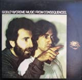 Godley & Creme: Music From Consequences LP VG+/VG++ Canada Mercury SRM-1-3780