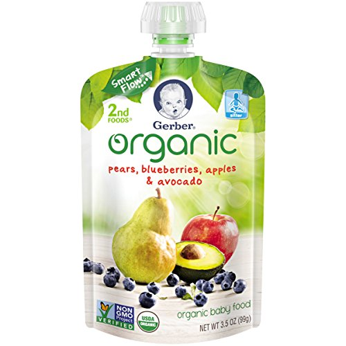 Gerber Organic Blueberries Apples Avocado product image
