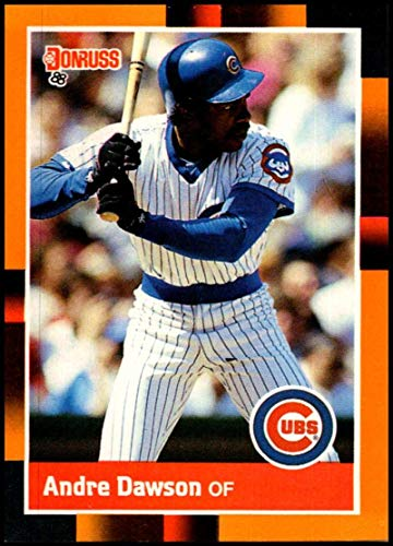 - 1988 Donruss Baseball's Best #225 Andre Dawson NM-MT Chicago Cubs Offically Licensed MLB Baseball Trading Card