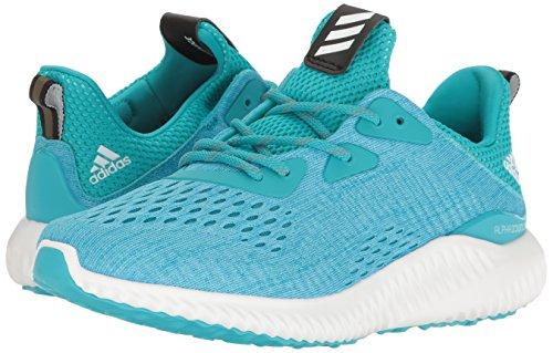 Adidas Performance Women's Alphabounce Em w Running Shoe, Energy Blue/White/Ocean, 7.5 M US