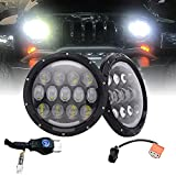 Best OEM headlamp - Projector 7Inch Led Round Headlights Hi/Lo Beam DRL Review