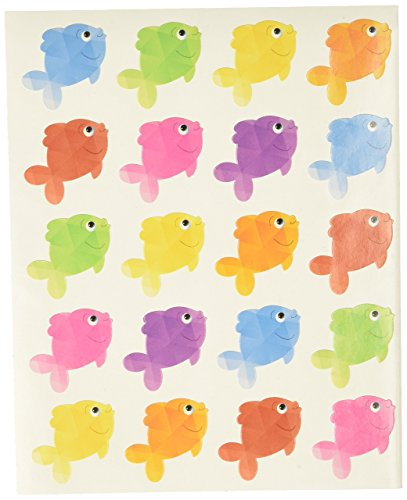 Teacher Created Resources 3553 Colorful Fish Stickers