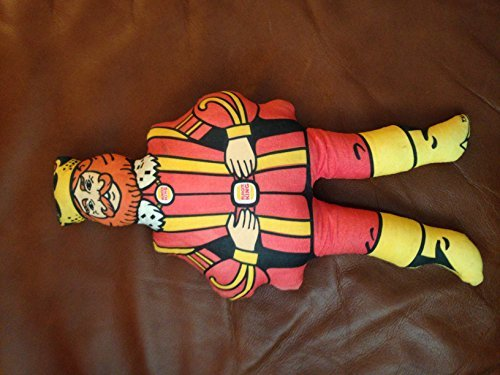 Vintage 14 Inch Stuffed Burger King Toy Doll