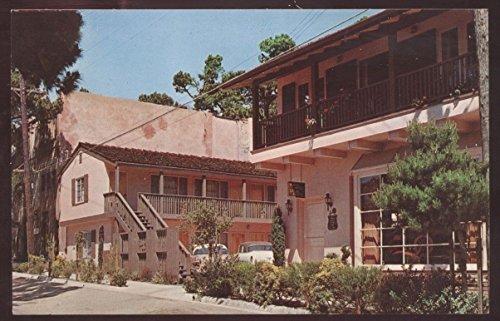 Spinning Wheel Inn Motel Carmel Steakhouse California Sea Postcard