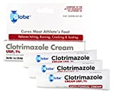 Product review for (3 PACK) Clotrimazole Anti Fungal Cream, 1% USP Compare to Lotrimin 1oz.