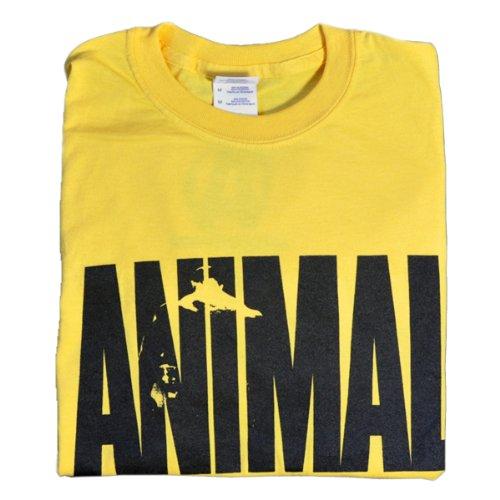 "Universal Nutrition Yellow""Animal"" Iconic T-Shirt XXL"
