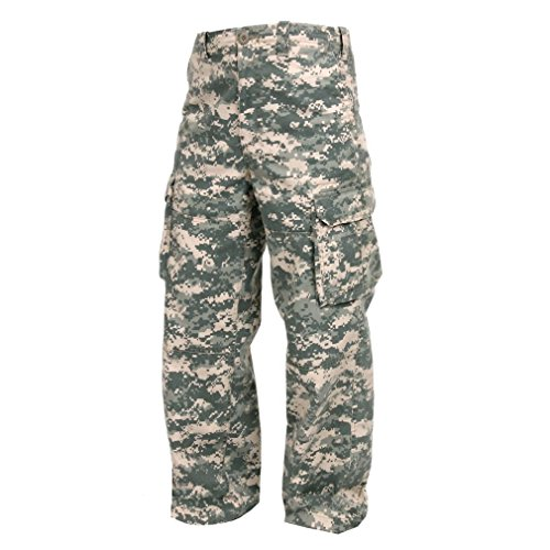 Us Paratrooper Costume (KIDS BOYS US MILITARY ARMY AIRSOFT DIGITAL CAMO PARATROOPER PANTS FATIGUES)