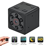 Mini Hidden Spy Camera, EMAL 1080P Sports DV Home Security Camera HD Baby Nanny Camera Portable Small Pocket Cam with Motion Detection & Night Vision for Pets/Office Monitor, Car Surveillance