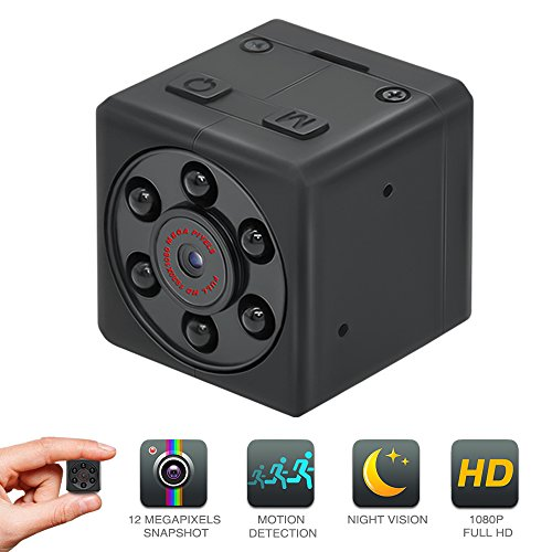 Mini Hidden Spy Camera, EMAL 1080P Home Security Camera Baby Nanny Camera Small Pocket Cam Portable HD Sports DV...