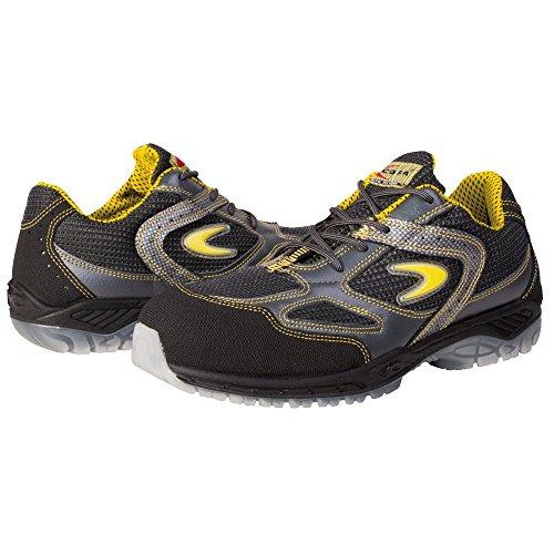 Cofra 30150-000.W37 Grand Slam S1 P Chaussures de sécurité SRC Taille 37 Noir