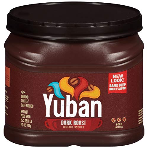 Yuban Dark Roast Ground Coffee, 25.3 oz Can