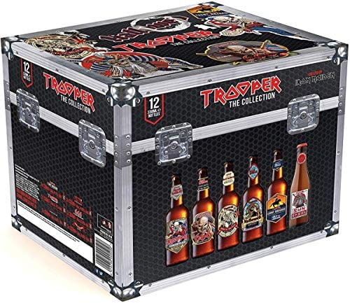 Cofre Iron Maiden Trooper The Collection Cerveza - 12 botellas x ...