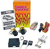 amazon com spal shaved 40 shaved door kit with 7 channel remote shaved door poppers spal amenity 40lb shaved door handle kit with poppers