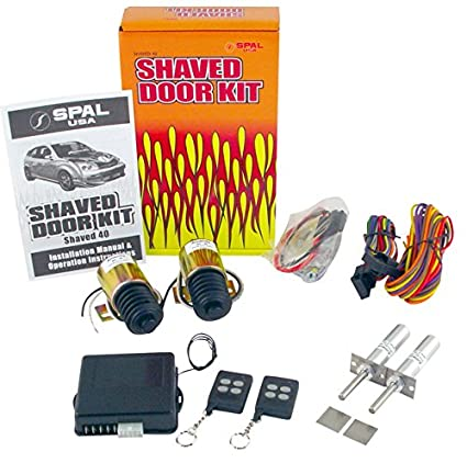 Shaved door handel kits