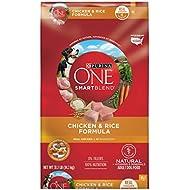 Purina ONE Natural Dry Dog Food; SmartBlend Chicken & Rice Formula - 31.1 lb. Bag