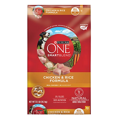 Purina ONE SmartBlend Natural Chicken & Rice Formula Adult Dry Dog Food - 31.1 lb. ()