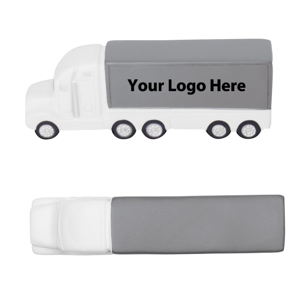 Semi - Truck Stress Reliever - 150 Quantity - $2.60 Each - PROMOTIONAL PRODUCT / BULK / BRANDED with YOUR LOGO / CUSTOMIZED