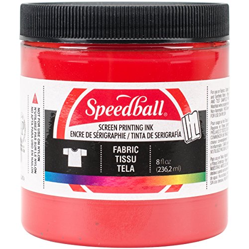 Special Fabric Screen Printing Ink 8 oz, Colour: -