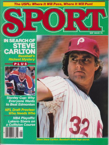 Sport Magazine May 1983 Steve Carlton