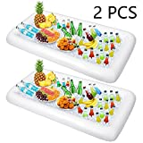 Inflatable Serving Salad Bar for Picnics Buffet Pool Parties BBQ Party Supplies