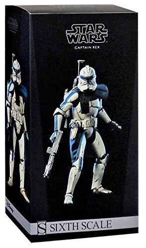 Star Wars The Clone Wars Captain Rex 1:6 12 Inch Action Figure ()