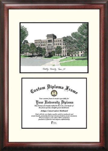 (Campus Images IL999V Bradley University Scholar Diploma Frame, 8.5