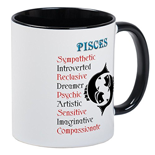 CafePress - Pisces Mug - Unique Coffee Mug, Coffee Cup