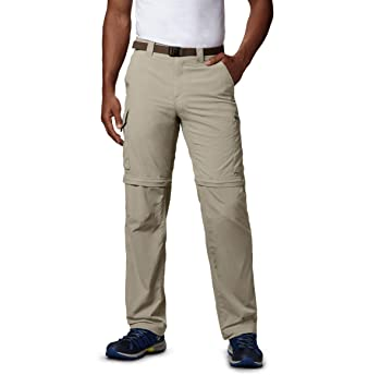 drop shipping hot sale online high quality materials Columbia Men's Silver Ridge Convertible Pant, Breathable, UPF 50