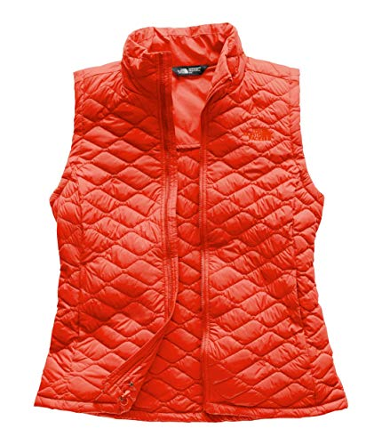 The North Face Women's Thermoball Vest - Valencia Orange - S