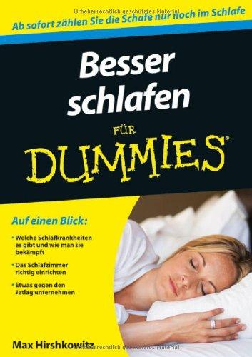 Besser schlafen für Dummies