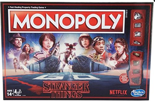 Netflix Stranger Things Monopoly Board Game