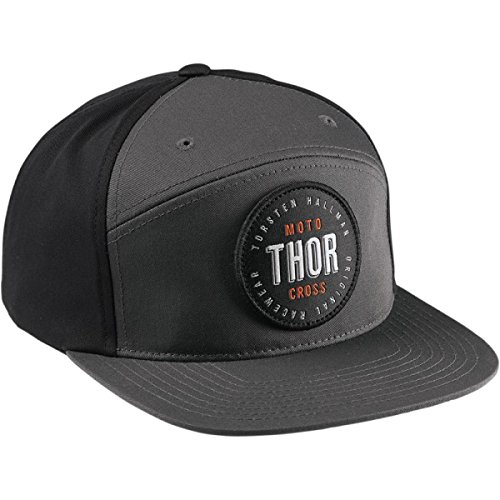 THOR CAP S7 NAPBACK HAT GRAY/CARDINAL GR. ONE SIZE