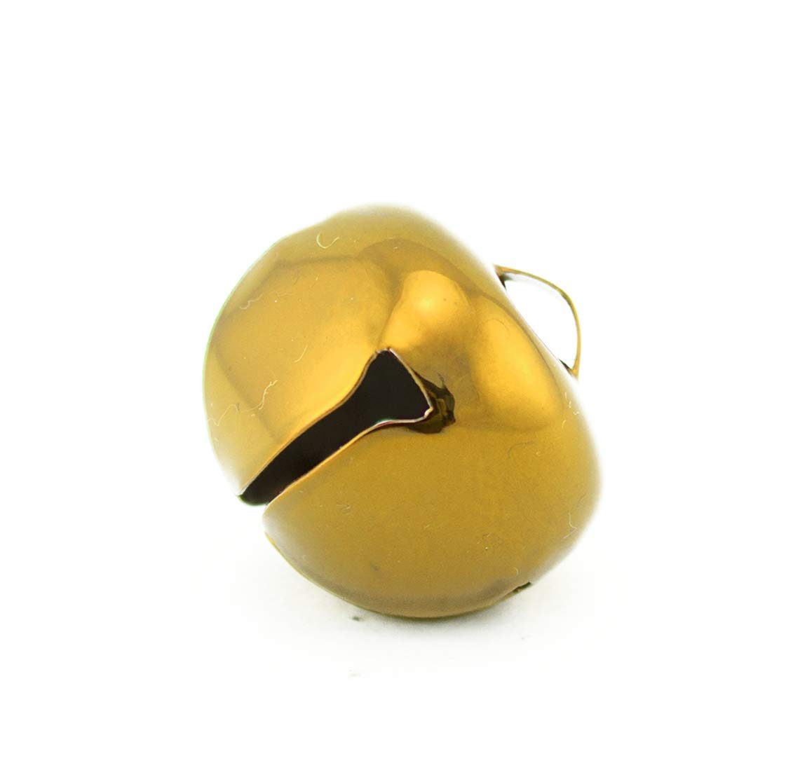 1.5 Inch 36mm Extra Large Giant Jumbo Craft Gold Jingle Bells Bulk 100 Pieces by Art Cove (Image #2)