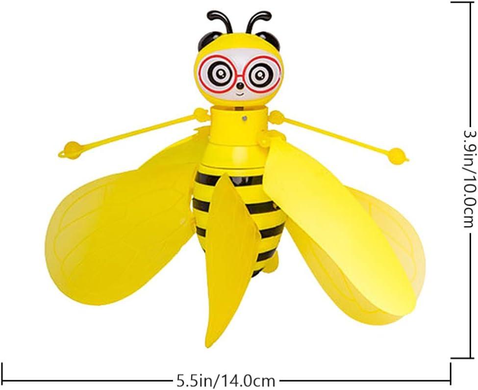 ifundom Abeja Sensor de Juguete Volador Animal Drone Volador Interior Al Aire Libre Figuras Voladoras Ni/ños Drone para Ni/ños Juguete para A/ño Nuevo Festival de Cumplea/ños Pascua