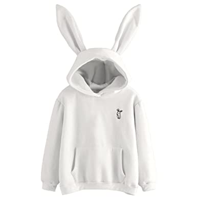 Hoodies Women Winter Thicker Plus Velvet Kawaii Hooded Simple All-match Japanese Style Hoodie Womens Lovely Sweatshirts Chic Clearance Price Women's Clothing