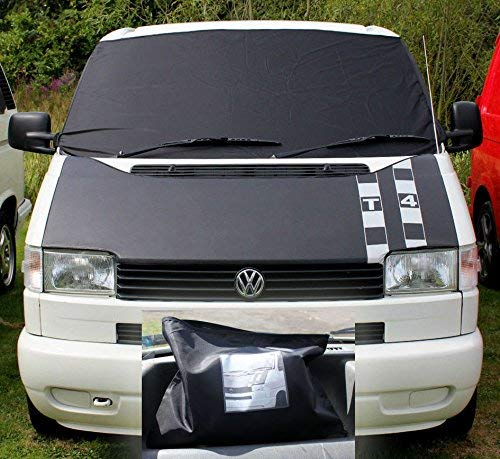 T4 Window Front Screen 100/% Black Out Curtain Wrap Cover Frost Windscreen FREE STEP MATS WITH EVERY COVER