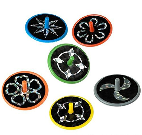 1.5'' LASER SPIN TOP, Case of 15 by DollarItemDirect (Image #4)