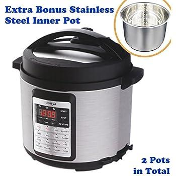 Amazon.com: 12-in-1 Pressure Cooker - Elechomes 1000W 6 Qt
